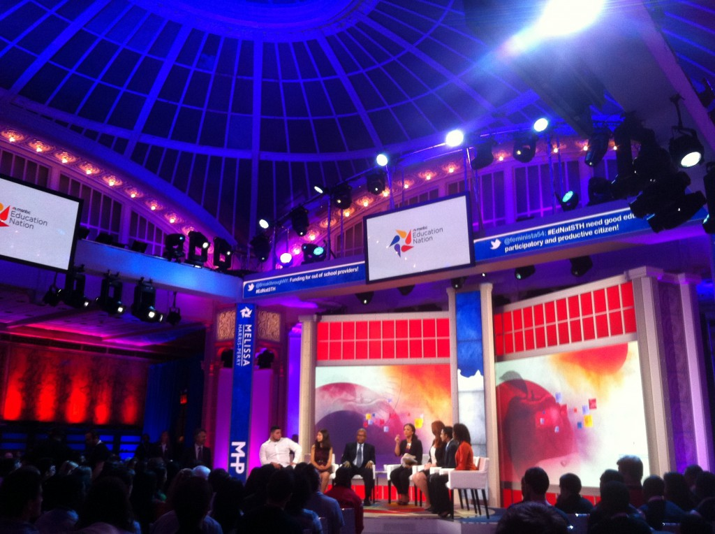 Education Nation's student town hall