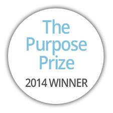 Purpose Prize Badge